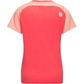 PYUA Skip T-Shirt Dames, hibiskus pink-powder pink